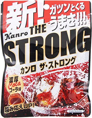 カンロ カンロザ・ストロンググミ濃厚コーラ味 70g ×6袋