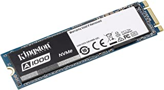 Kingston Digital SA1000M8/240G A1000 240GB PCIe NVMe M.2 2280 Internal SSD High Performance Solid State Drive