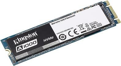Kingston Digital SA1000M8/480G A1000 480GB PCIe NVMe M.2 2280 Internal SSD High Performance Solid State Drive