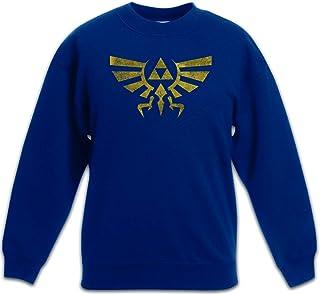 Urban Backwoods Triforce Vintage Logo Sudadera Suéter para Niños Niñas Pullover
