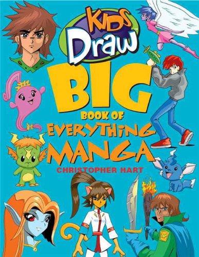 Kids Draw Big Book of Everything Manga (English Edition)