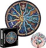 Puzzle Redondo 1000 Piezas,Puzzle,Rompecabezas Redondo,Puzzle Creativo,Puzzle Adultos (I)
