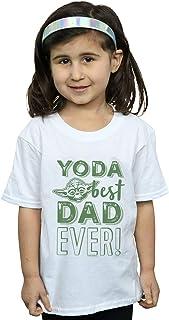 Star Wars Girls Yoda Best Dad T-Shirt
