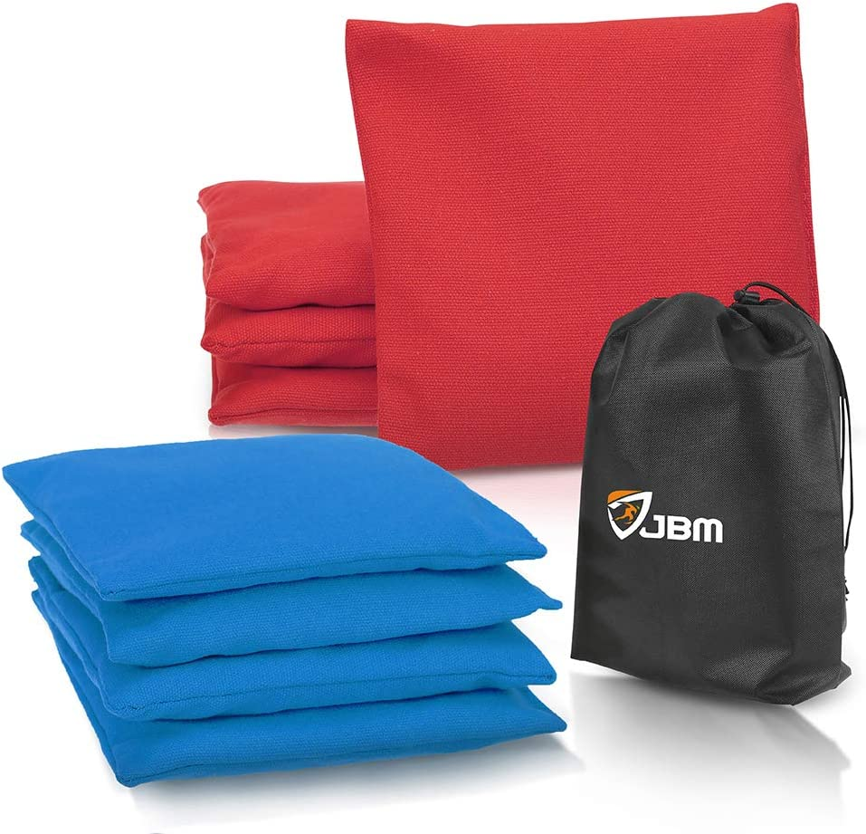 JBM Cornhole Bean Bags Limited time for free Baltimore Mall shipping Set of 8 Resistant Duck Weather Canvas