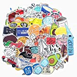 Water Bottle Cute Vine Stickers Laptop Stickers Pack 67 Pcs Vsco Aesthetic Decals for Hydro Flask Water Bottle Laptop Ipad Car Luggage