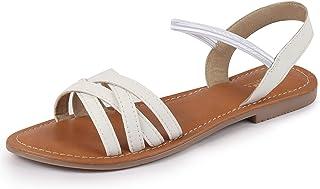 Comfortina by Bata Women's Flat Slip On Sandals