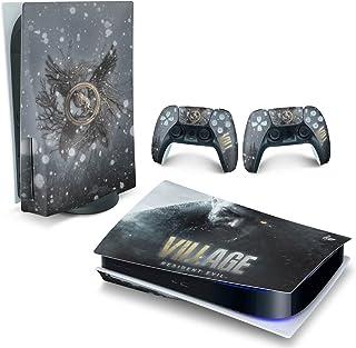 Skin PS5 Playstation 5 Adesivo Horizontal - Resident Evil Village