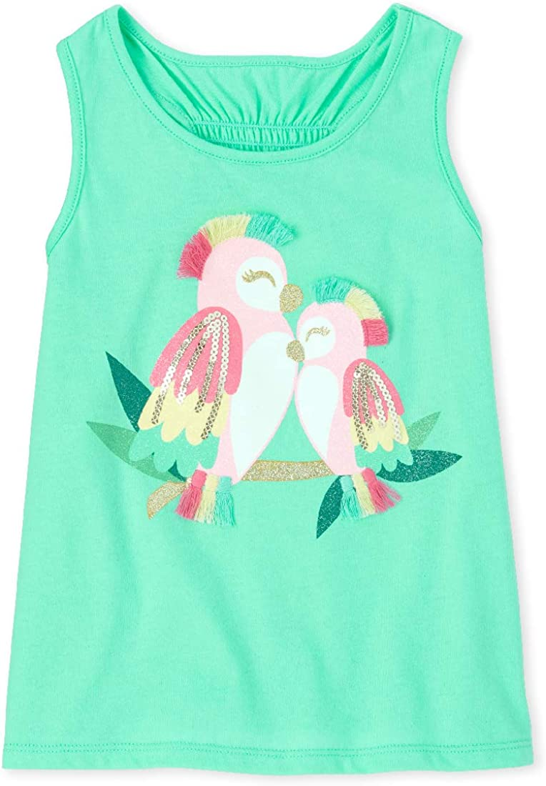 New products, world's highest quality popular! The Children's Place Baby Graphic Tank Girls' Tops Ranking TOP5