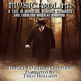 Musicarolina audiobook cover art