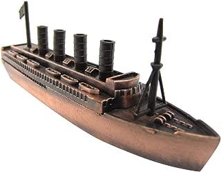 TG,LLC Metal Bronze Model Replica Cruise Ship Ocean Liner Die Cast Toy Pencil Sharpener