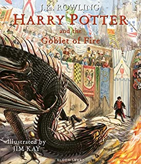 Harry Potter and the Goblet of Fire: Illustrated Edition (1408845679) | Amazon price tracker / tracking, Amazon price history charts, Amazon price watches, Amazon price drop alerts