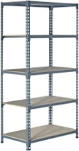 Rek zonder schroeven J200 hout Med. 1800/900/500 mm Kleur: grijs