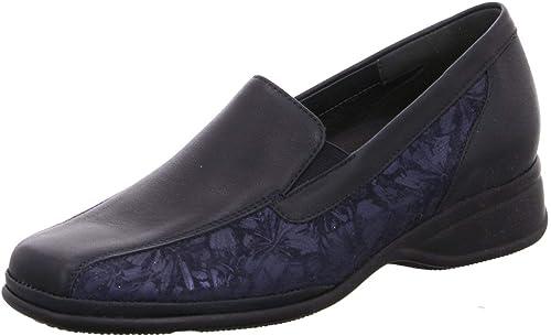 Semler Damen Slipper Soft-N. Flower-Print R1145722 R1145722 R1145722 813 blau 674851  faire Preise