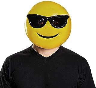 Sunglasses Emoticon Adult Mask-