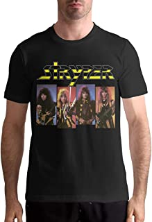 Stryper Men's T Shirt Cotton Fashion Sports Casual Round Neck Short Sleeve Tees