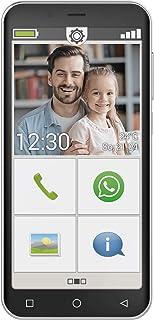 emporiaSMART.4   Dieses Smartphone ist genau richtig für alle, die es handlich, kompakt und übersichtlich wollen. Inklusive Einer umfassenden Bedienungsanleitung und Trainingsbuch, schwarz