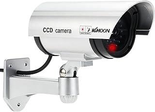 KKmoon Dummy IP Kamera drahtlose Wasserdichte Überwachungskamera wireless mit blinkendem rotem LED Licht