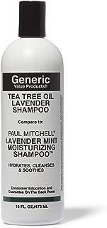 Generic Value Products Tea Tree Oil Lavender Shampoo Compare to Paul Mitchell Lavender Mint Moisturizing Shampoo