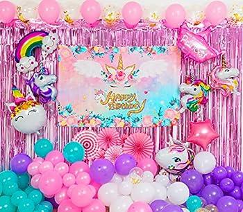 Best unicorn theme party supplies Reviews