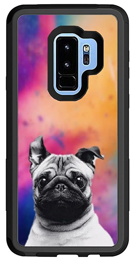 Personalize Samsung Galaxy S9 Plus Cases - Pug Hard Plastic phone cell Case for Samsung Galaxy S9 Plus