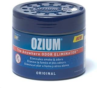 Ozium 804281 Blue 4.5 Ounce Smoke & Odors Eliminator Gel, Original Scent