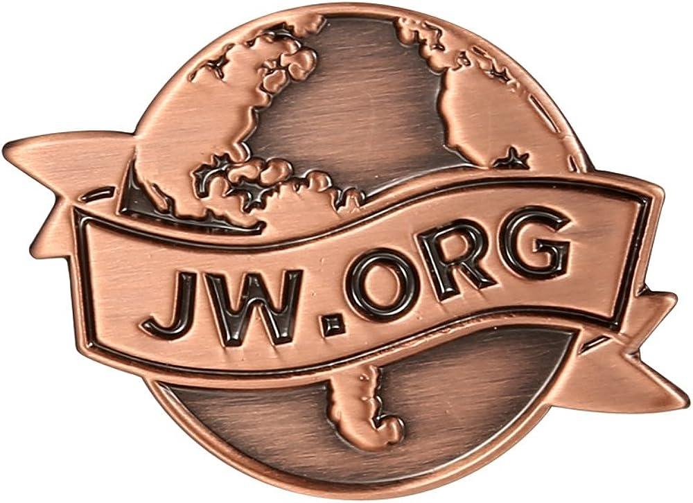 Fengteng Lot of 5 Jw.org Lapel Pin Brooch Gifts