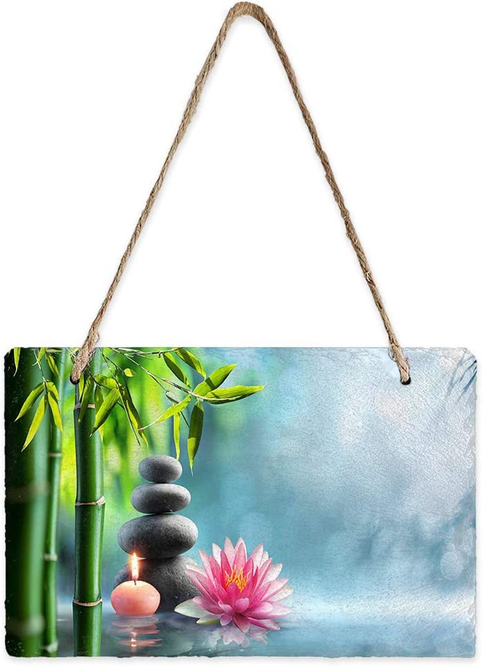 Libaoge Mini Slate Hanging Sign Double Pedi Free Shipping Cheap Under blast sales Bargain Gift Sided Wall Rectangle