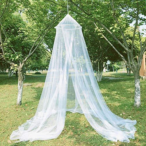 Alician rundes Moskitonetz, Moskitonetz, zum Aufhängen, Betthimmel, Vorhang, Outdoor-Produkte