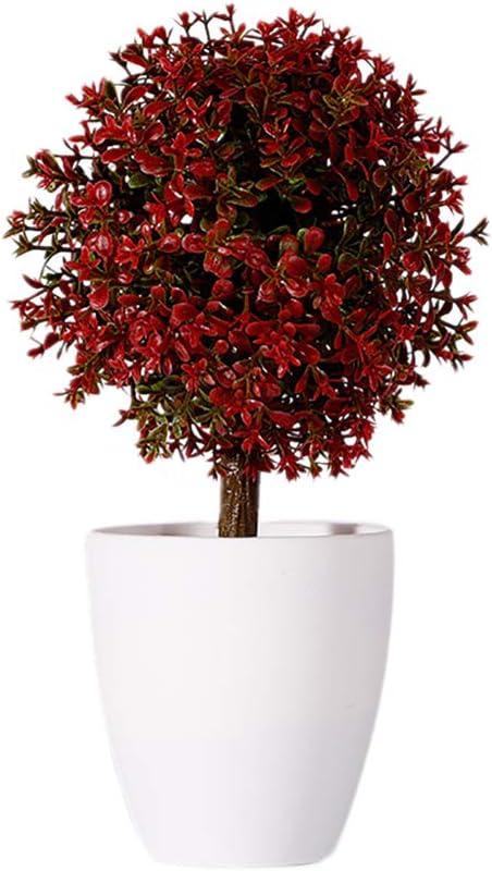 Wansan Artificial Mini Max 42% OFF Popular brand Plants Shrubs Fake Topiary Plastic