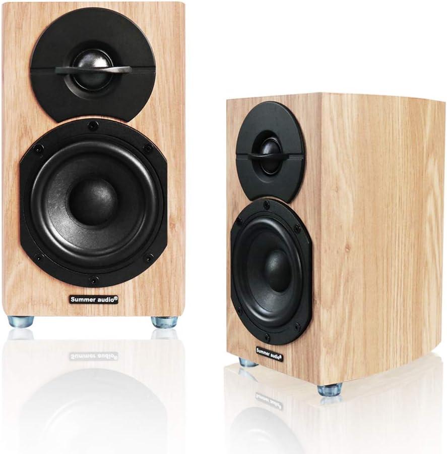 2.0 Limited time Charlotte Mall trial price HiFi Cambered Stereo Passive Anti-Ski Bookshelf Speaker with