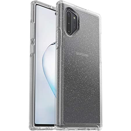 OtterBox SYMMETRY CLEAR SERIES Case for Samsung Galaxy Note10+ - STARDUST (SILVER FLAKE/CLEAR) (77-62354)