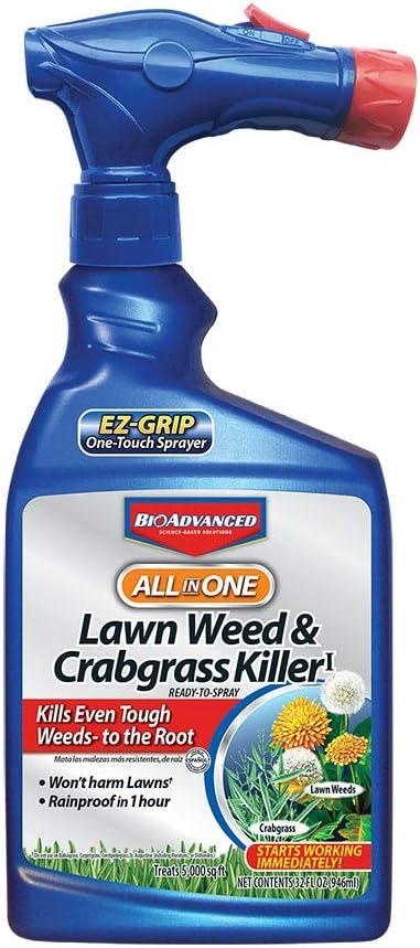 BioAdvanced 704080A Ready-to-Spray Rts Crabgras/Weed Killer, 32 oz