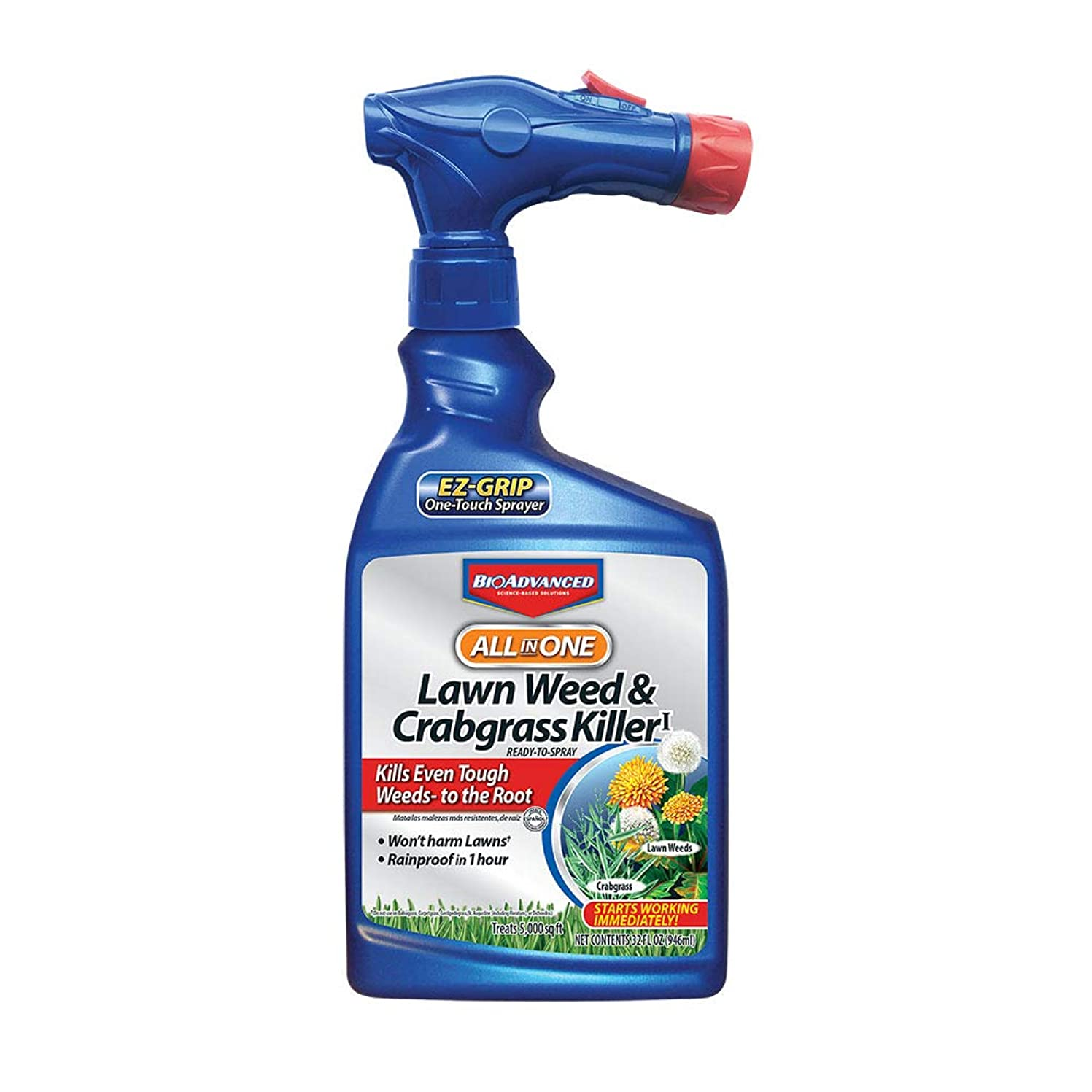 Bayer Advanced  All in One Lawn 1.3G Weed & Crabgrass Killer jwxn2120157