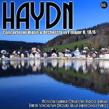 Haydn: Concerto for Violin & Orchestra in F major H. 18/6