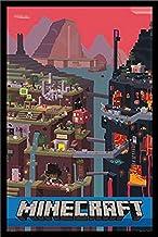 """ملصق مطبوع عليه عبارة """"Minecraft Sam Cube"""" من buyartforless مقاس 55.88 سم × 86.36 سم"""