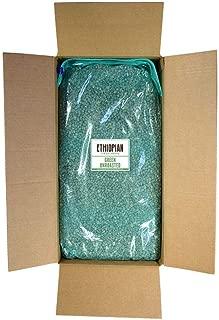 Fresh Roasted Coffee LLC, Green Unroasted Ethiopian Yirgacheffe Kochere Coffee Beans, Bulk 25 Pound Bag