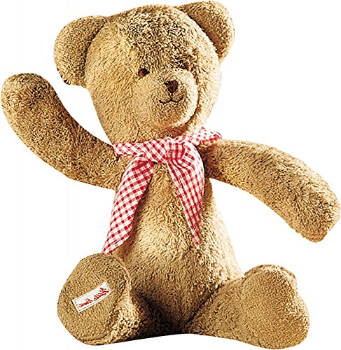 Käthe Kruse Teddybär Kuscheltier Plüschtier Schmusetier Stofftier, ab 3 Monaten, 35 cm