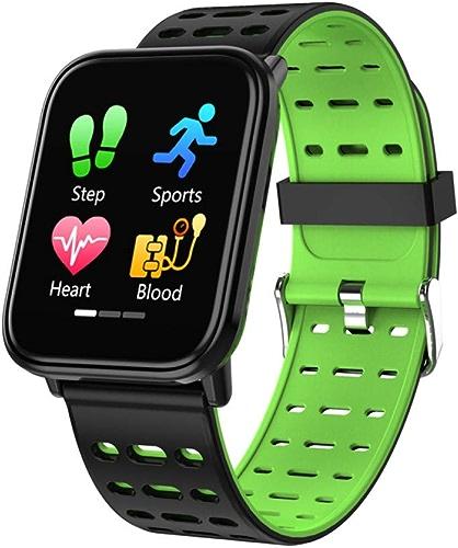 ZLOPV Montre Intelligente Nouveau bleutooth Moniteur de fréquence Cardiaque Smartwatch Fitness Tracker Fitness Watch Smart Watch Hommes Sport Bracelet Intelligent pour iOS Android