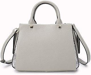 Handbag - Large Capacity Solid Bag, Polyester Wear Resistant, Stylish Versatile Single-shoulder Bag, Ladies Light Grey Han...