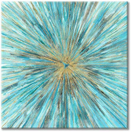 Abstract Wall Art Canvas Picture Modern Painting Hand Painted Artwork for Bedroom 24 x 24 x product image