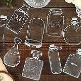 PMSMT 30 unids/Set Encantadoras Botellas de Vidrio de Perfume DIY Etiqueta Adhesiva para Diario Scrapbooking Pegatina Manual decoración Pegatinas Kawaii