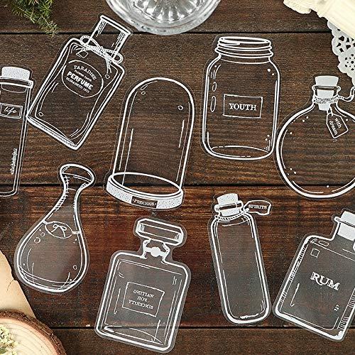 Mooie Parfum Glazen flessen Diy Dagboek Sticker Label Scrapbooking Sticker Handboek Decoratie Kawaii Stickers30 Stks/set