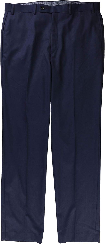 Ralph Lauren Mens Covert Twill Casual Trouser Pants, Blue, 34W x 30L