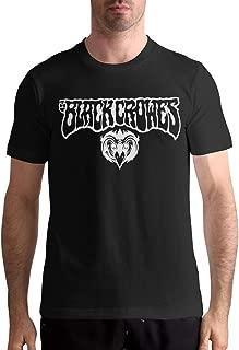 The Black Crowes Logo Comfortable Music Theme Classic Men's Short Sleeve T-Shirt