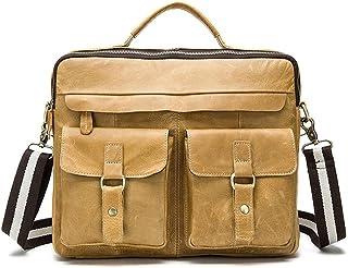 SPLY DTEM Mens Shoulder Messenger Bag Canvas SLR Camera Digital Camera Bag SLR Camera Bag Briefcase Color : Brown