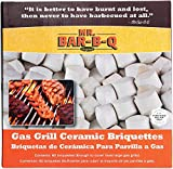 Mr. Bar-B-Q 06000Y Ceramic Gas Grill Self Cleaning Briquettes, Replacement for Lava Rocks, Cleaner...