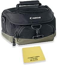 Canon 100EG Digital SLR Camera Case Gadget Bag for EOS 7D, 77D, 80D, 5D Mark II III IV, Rebel T6, T6i, T6s, T7i, SL2 and EOS M Cameras