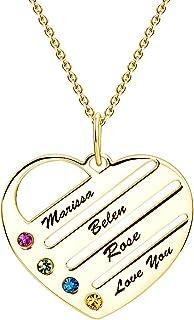 Soufeel Personnalis/é Photo Charm C/œur en Argent 925 Dor/é Rose Perle Beads pour Femme Homme Cadeau F/ête des M/ères Anniversaire Maman Marriage