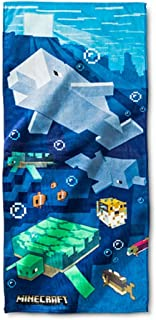 Mojang Shards and Turtles Beach Towel
