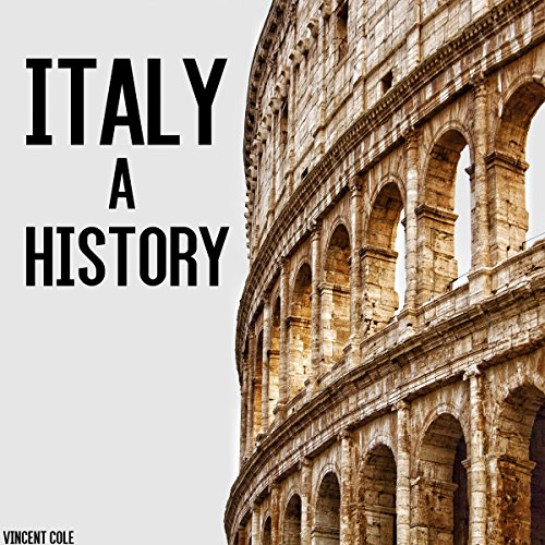 Italy: A History audiobook cover art